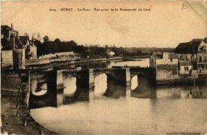 CPA AURAY - Le Pont - Vue prise de la Promenade du Loch (431607)