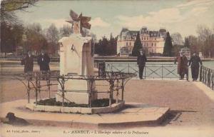L'Horloge Solaire Et La Prefecture, Annecy (Haute Savoie), France, 1900-1910s