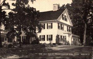 Massachusetts Framingham Center The 1812 House Restaurant