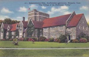 Adminstration Building Southwestern University, The College of the Mississip...
