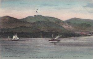 THE CATSKILLS, New York, PU-1909; The Catskills From The Hudson