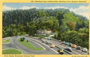 NC - Smoky Mountains, Laura Spelman Memorial, Newfound Gap