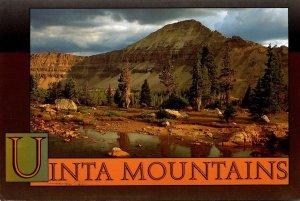 Utah Uinta Mountain Range Mt Agassiz Middle Basin 1996