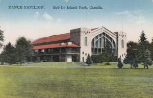 BOB-LO ISLAND PARK , Ontario , Canada , 1900-10s ; Dance Pavilion