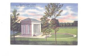 Benedict Temple to Music Providence Rhode Island,