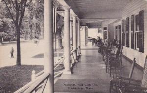 Massachusetts Stockbridge Veranda Red Lion Inn