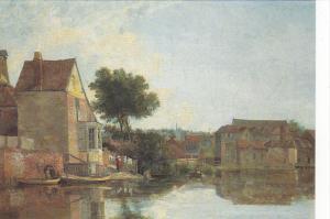 Back of New Mills by John Crome Norwich Castle Museum