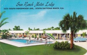 Florida Daytona Sun Ranch Motor Lodge 1961