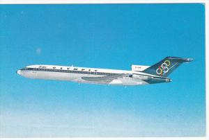 Olympic Airways, Boeing 727-200 in flight, 1960s