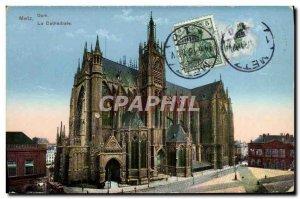 Old Postcard Metz Dom La Cathedrale
