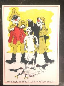 Mint Netherlands Picture Postcard now he has nothing left WW2