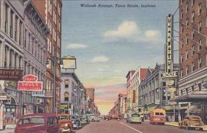 Indiana Terre Haute Wabash Avenue