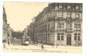 Le Poste Et Le Boulevard Rene-Levasseur, Le Mans, France, 00-10s