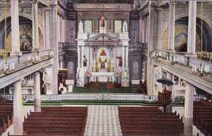 Interior Of Saint Louis Cathedral New Orleans Louisiana