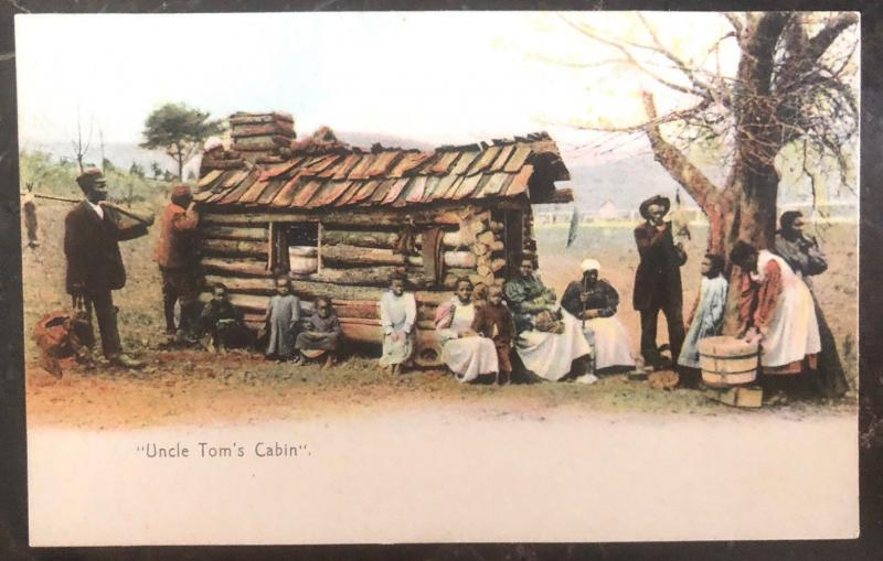 Mint picture PPC Postcard Black Americana Uncle Toms Cabin