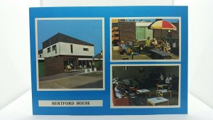 Vintage Postcard Hertford House Disabled Holiday Hotel Clacton on Sea Essex