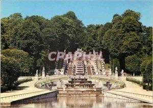Modern Postcard St Cloud (Hts de Seine) The Park The Cascade