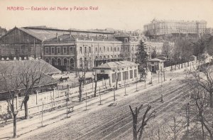 MADRID , Spain , 00-10s ; Estacion del Norte y Palacio Real