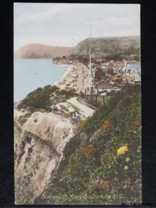 c1906 - Sidmouth from Salcombe Hill