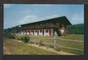 Berkshire Chalet Motel,Restaurant,Barrington,MA Postcard