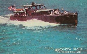 MACKINAC ISLAND , Michigan , 1950-60s ; Speed Cruiser