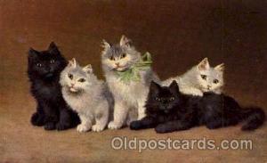 Series 1002 Artist Sperlich Cat, Cats Post Card Post Card Series 1002 Series ...