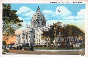 Minnesota State Capitol, St. Paul, Minnesota, Early Postcard, Used in 1935