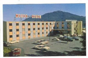 Crest Motor Hotel, Prince Rupert, British Columbia, Canada, 40-60s