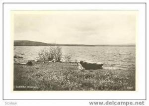 RP small boat ahore, LUDVIKA, Sweden, 40-50s