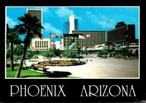 Arizona Phoenix Downtown View 2012
