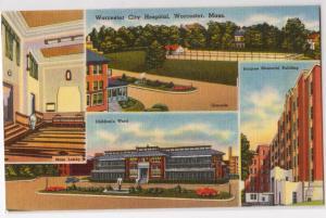 City Hospital, Worcester MA