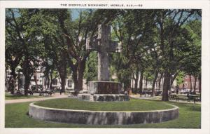 MOBILE, Alabama, 1900-1910's; The Bienville Monument