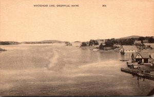 Maine Greenville Moosehead Lake