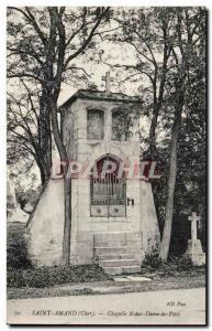 Old Postcard St. Amand Notre Dame De Petit