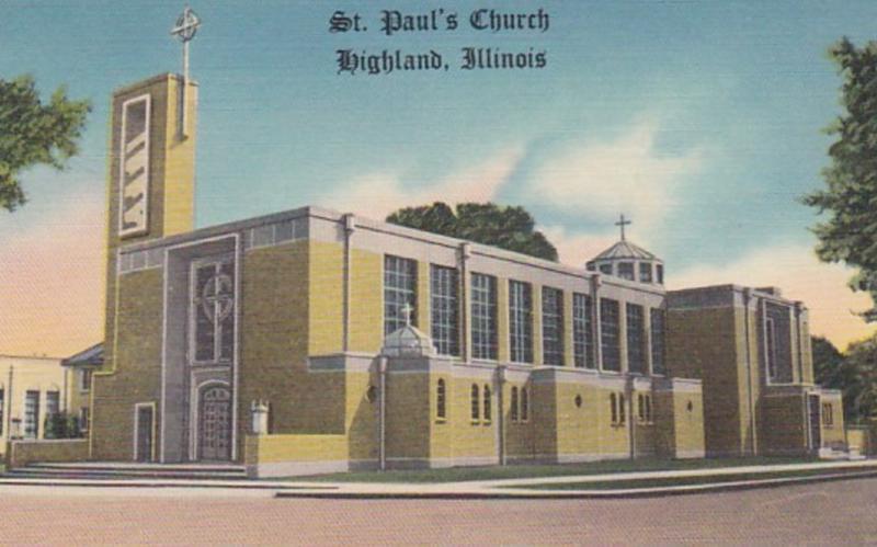 Illinois Highland St Paul's Church