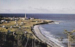 La Gaspesie, St. Maurice De L'Echourie, Fishing Village, GASPE, Quebec, Canad...