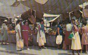 Curacao Floating Market 1957