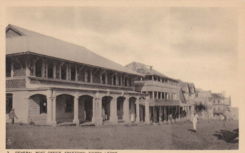 Sierra Leone Freetown General Post Office Tucks sk1794a
