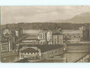 old rppc NICE VIEW Geneva - Geneve Switzerland i3583