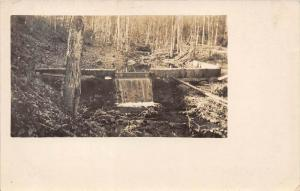 13043    Dam of Stream 1920´s  somewhere in the United States
