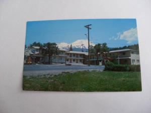 pre-1980 ALPINE LODGE MOTEL Mt. Mount Shasta California CA Unused Postcard y7004