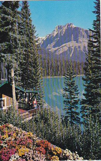 Canada Emerald Lake Field British Columbia
