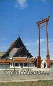 Giant Swing, Sao Ching Chao, Wat Sutat Bangkok Thailand Unused