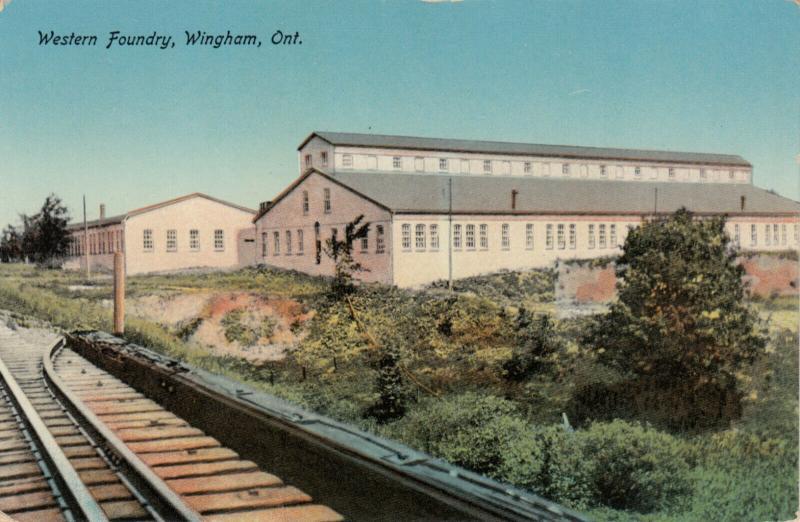WINGHAM , Ontario , 1900-10s ; Western Foundry