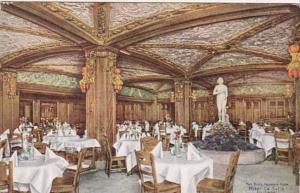 Illinois Chicago Hotel La Salle The Blue Fountain Room