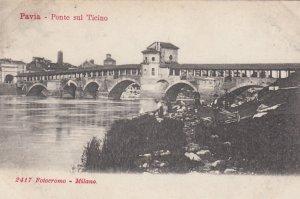 PAVIA , Italy , 00-10s : Ponte sul Ticino
