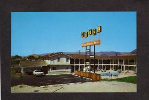 CA Coachman Inn Motel San Luis Obispo California Postcard nr Morro Bay