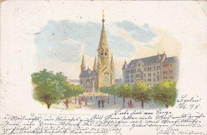 BERLIN, Germany, PU-1898; Kaiser Wilhelm-Gedachtnisskirche