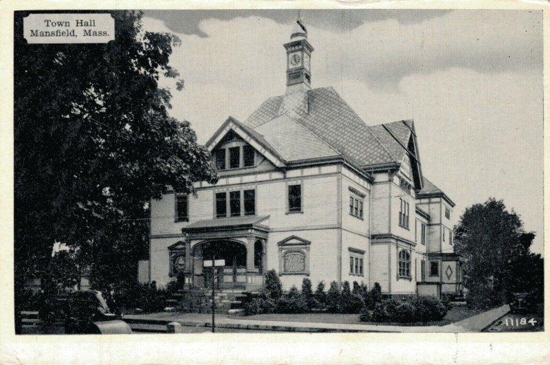 USA Town Hall Mansfield Mass 03.31