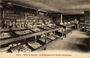 CPA Joigny - Ecole Saint-Jacques - La Bibliotheque et le Musee FRANCE (960715)